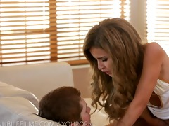 nubile films - gooey facial for petite legal age