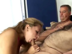 2 old curly fellow fucking young wife