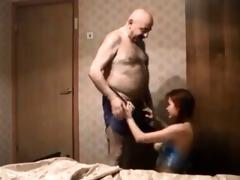 old boy fucks redhead teen on hidden cam