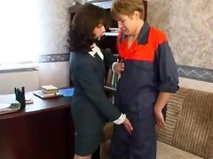 russian mature with youthful guy pornozak.com