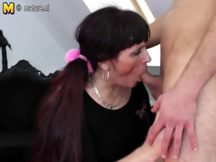 old bitch mother receives drilled by her toyboy
