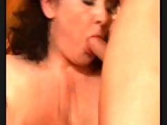 sexy older 30 dark brown mature with a young dude