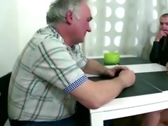 naughty czech girl fucks with old man as soon as