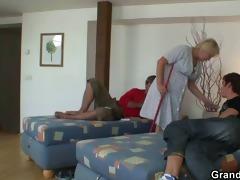 knob assault on granny