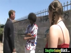 juvenile daughter with worthwhile ass screwed by
