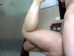 corpulent mother i fucks a youthful boy in the