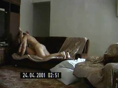 sexy russian milf fucks a younger chap