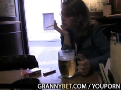 breasty mommy is picked up in the bar and fucked