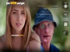 juvenile blonde hottie bonks hers older man
