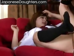 smutty dad and japanese daughter...