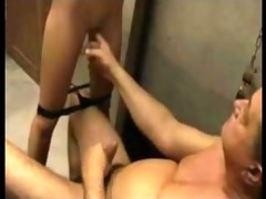 old fellow fucking,loving and giving a kiss sexy