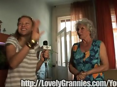 grey haired granny does my penis