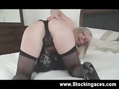 breasty golden-haired d like to fuck receives