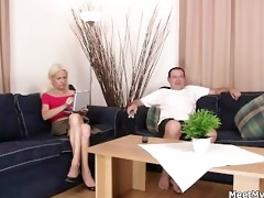 sexually excited parents entice their sons gf