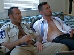 saturday sex - daddy soldier, hawt cop &