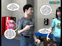 3d comic: seasons of change. episode 6