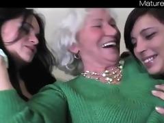lesbian teenies + granny norma from matureside