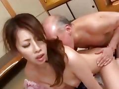 youthful japanese wife amp old dude