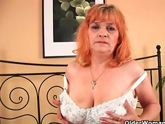 granny with large tits sucks wang and acquires