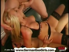 gina the charming blonde mother i swallows tons