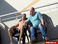 str8 hunk fucking a aged queer