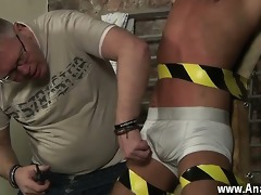 sexy twink serf guy made to squirt