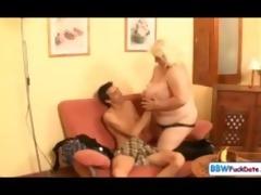 big beautiful woman june kelly fucks a skinny guy