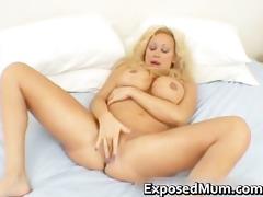 huge tits mom in strap fingering her part5