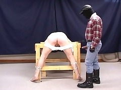 lustful pig dad torturing sexually excited g