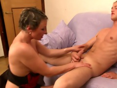 stepmom &; guy have a fun each other