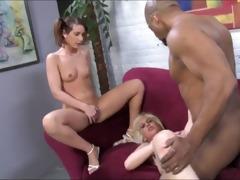 black guy fucks and creampie 18yo girl and granny