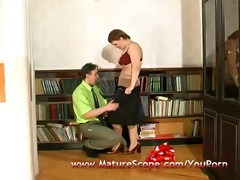 fat mature housewife screwed by sexually excited