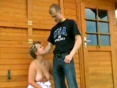 mature woman and youthful man - 25