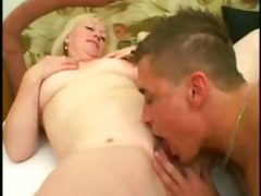blond older 53 y old fuck a youthful stud