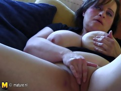 breasty old mother dreaming of youthful penis