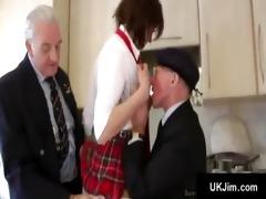 old perverts fornicate blameless juvenile