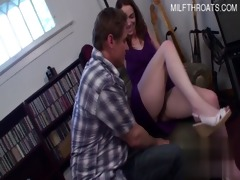 hot daughter ejaculation in face hole