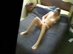 enjoy my sister fingering watching porno. hidden