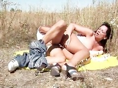 excited milf gets fucked hard outdoor part4