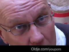 juvenile wicked natali copulates bussines oldman