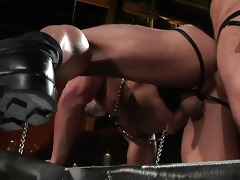 ferelli dominates the younger dude and fucks him