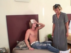 mature charwoman pleases dick instead cleaning