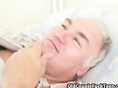 grandpa fucks hot horny nurse
