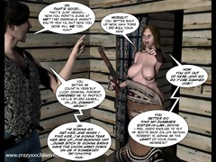 3d comic: six gun sisters. episode 5