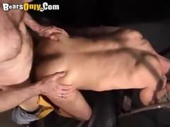 large dicked hirsute bears hardcore pounding