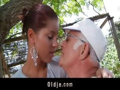 big dong oldman bonks his much younger hawt