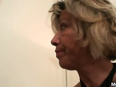 hot mother-in-law sucks and rides his lascivious