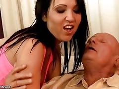 horny grandpa enjoys sex with hawt legal age