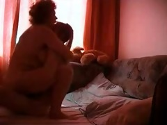 dissolute aged doing a home xxx porn video with