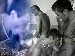 group of studs have some wild sex - dad oohhh